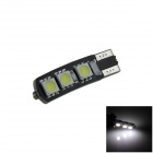 T10 / 194/168 / W5W 1.2W 120lm 6 * SMD 5050 LED lampe de voiture blanche (12V)