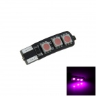 T10 / 194/168 / W5W 1.2W 120lm 6 x 5050 SMD LED lámpara de Liquidación Purple Car / Side Light - (12V)