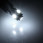 T10 1W 100lm 5-SMD 5050 LED White Light Canbus Error Car Lamp (12V)