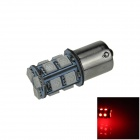 1156 / BA15S 3W 200lm 13 x SMD 5050 LED Red Car Signal Light / Steering / Backup Lamp - (12V)