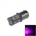 1156 / BA15S 3W 200lm 13 x SMD 5050 LED Purple Car Signal Light / Steering / Backup Lamp - (12V)
