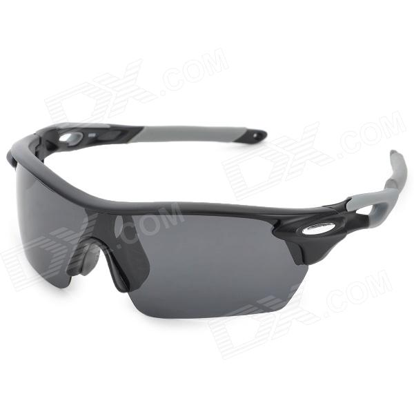 все цены на CARSHIRO E9369 Outdoor Sports Polarized UV400 Polarized Sunglasses - Grey онлайн