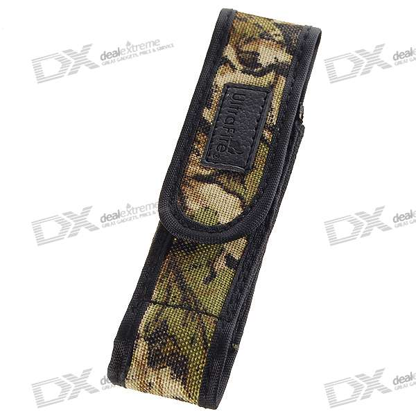 Ultrafire Nylon Camouflaged Flashlight Holster (Small)