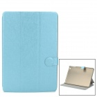 PUDINI Protective PU Leather + PC Case for RETINA IPAD MINI - Blue