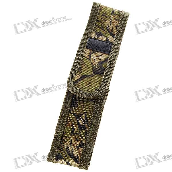 Ultrafire Nylon Camouflaged Flashlight Holster (Mid)