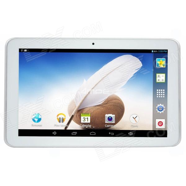 "Ampe A92 9 ""Android 4.2.2 Tablet PC w / 512 Mo de RAM, 8 Go de ROM, Wi-Fi, TF, double caméra - Blanc"