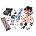 Funduino Little Smart Turtle + Smart Car Learning Kit for Arduino - Multicolored