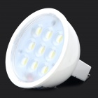 ZDM GU5.3 MR16 4W 300lm 7000K 9 x SMD 2835 LED White Light Lamp - White (12V)