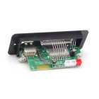 Lson 5V MP3 Decode Bluetooth Amplificador Board w / controle remoto + adaptador AC / DC - Black + White