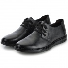 DongFangLaoDa k98 Fashion Men's Leather Shoes - Black (Size 43)