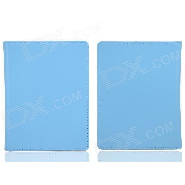 Protective PU Leather  Case  for / Auto Sleep  KOBO NON HD - Blue