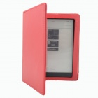 Protective PU Leather  Case  for KOBO NON HD - Red