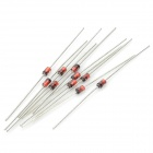 Qiao Tian 1N4740--1N4756 1W 10~47V Zener / Regulator Diodes - Red + Black + Silver (16 x 10 PCS)