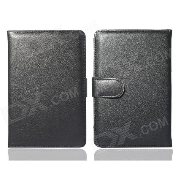 Hand Support Function Protective PU Leather Case for Pocketbook Touch 624 - Black high quality faux leather stand cover case for pocketbook touch 622 623 624 626 ebook ereader