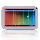 "6.7 ""Dual-Core Android 4.0 Tablet PC Child w / CORTEX A8 1,2 GHz, 512 MB RAM, 4 GB ROM - Pink + White"