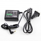 AC Power Charger Adapter for PSP 1000 / 2000 / 3000 - Black (US Plug / 100~250V / 100cm-Cable)