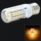 E27 5W 237lm 3200K 36 x SMD 5050 LED Warm White Light Lamp - White + Silver Grey (AC 85~265V)