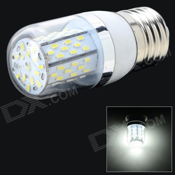 E27 5W 315lm 6500K 78 x SMD 3014 LED White Light Lamp - White + Silver Grey (AC 85~265V)