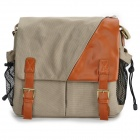 Universal Water Resistant Canvas Camera Bag - Grey