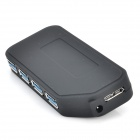 USB 3.0 4-Port Switch Control HUB - Black