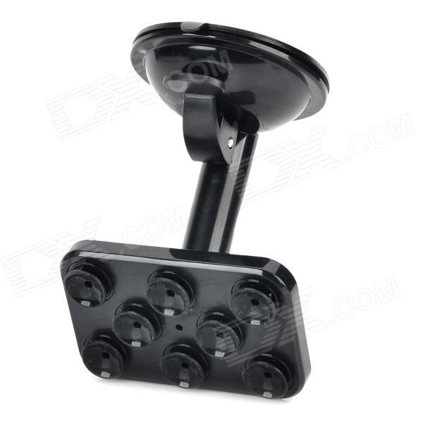 JX 1-020 Universal Car Suction Cup Stand Holder for Cellphone / GPS - Black