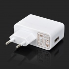 EU Plug Power Adapter w/ Data Charging Nylon Cable for Samsung T310 / T210 + More