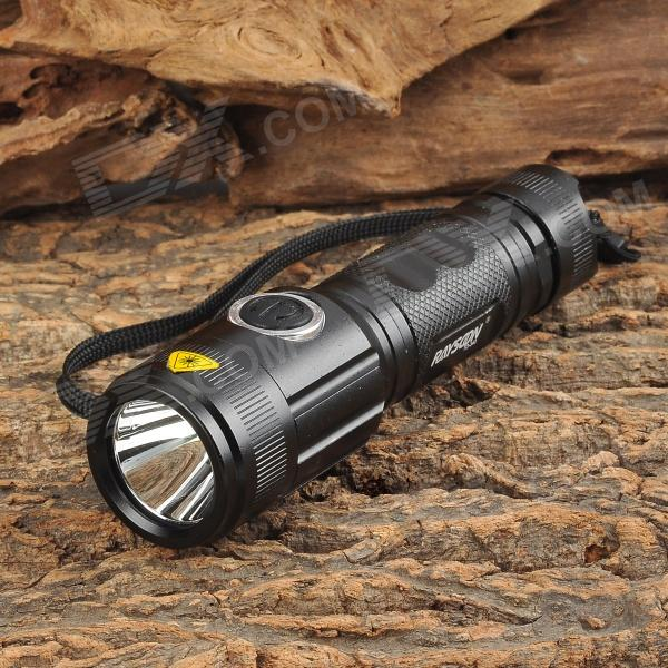 Rayson TD-340 650lm 1-LED 5-mode Cool White Light Flashlight - Black (3.6~4.2V)