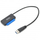 "Nimitz USB 3.0 to SATA 22-Pin Serial Adapter Cable for 2.5"" HDD"