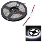 JRLED 72W 300-SMD 5050 LED Cold White Car Decoration Light Strip 5m
