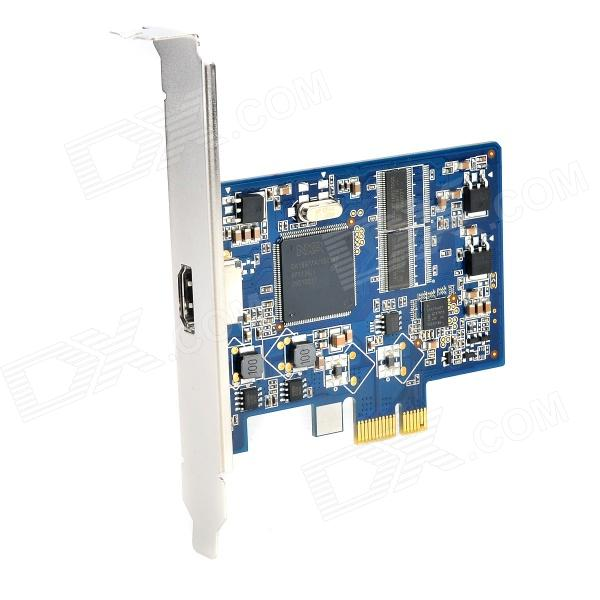 PCI-E HDMI HD Video Capture Card Support 1080p 30Hz - Blue + Black + Multi-Colored misecu new 4ch 8ch mini nvr full hd real p2p standalone cctv nvr 1920 1080p onvif for 1080p 960p 720p ip camera security system