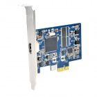 PCI-E HDMI HD Video Capture Card Support 1080p 30Hz - Blue + Black + Multi-Colored