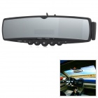 "Zhuozhou LV-5608V2 3.5 ""LCD Bluetooth V2.0 Rétroviseur w / Parking appareil photo - Noir"
