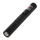 5mW 532nm Starry Sky Green Light Laser Pointer w/ Key + 18650 Battery + Charger - Black