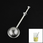 Stainless Steel Tea Filter - Silver