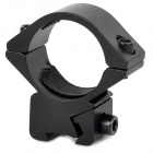 25DZ 11mm Gun Rail / 24~25mm Flashlight Mount Holders - Black (2 PCS)
