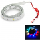 DIY 3W 30lm Car 20-SMD 3528 LED Colorful Light Car / Motorcycle Decoration Strip - White (12V)
