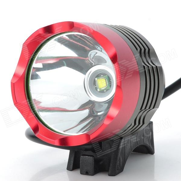 Cree XM-L T6 3-Mode 1000lm White LED Bike Light w/ Battery Pack (4 x 18650)