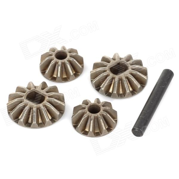 HSP 02066 Universal Stainless Steel Differential Pinions Gears w/ Pin for 1/10 Car