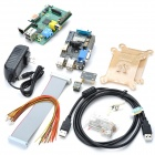 PI-B-X100 Raspberry Pi B Project Board + Expansion Board Set - Multicolor