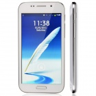 "GT-N7100 Android 2.3 GSM Bar Phone w/ 5.7"" / Bluetooth / Camera - White + Silver"