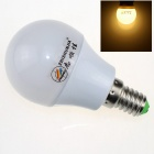 ZHISHUNJIA E14 3W 220lm 3000K 6 x SMD 5630 LED Warm White Light Lamp Bulb - White (AC 85~265V)
