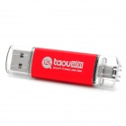 Taou kk USB 2.0 + Micro USB OTG USB Flash Drive - White + Red (32 GB)