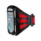 Malla protectora de Apple para el IPHONE 5 / 5S - Rojo + Negro
