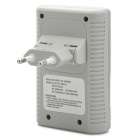 BTY N-802 AA / AAA / 6F22 Chargeur de batterie Ni-MH / Ni-Cd-Gris + Argent