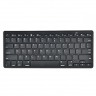 Y-JP7 Bluetooth V3.0 78-Key Wireless Keyboard - Black (2 x AAA)