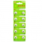AG4 377A 1.55V Cell Button Batteries - Silver (10PCS)
