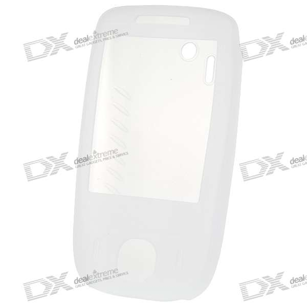 Silicone Case for HTC 3G T3232/T3238/T3238+ Cell Phone (White)
