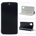 MOFI PR2013 Protective PU Leather + Plastic Case Cover Stand for LG E405F / Google Nexus 5 - Black