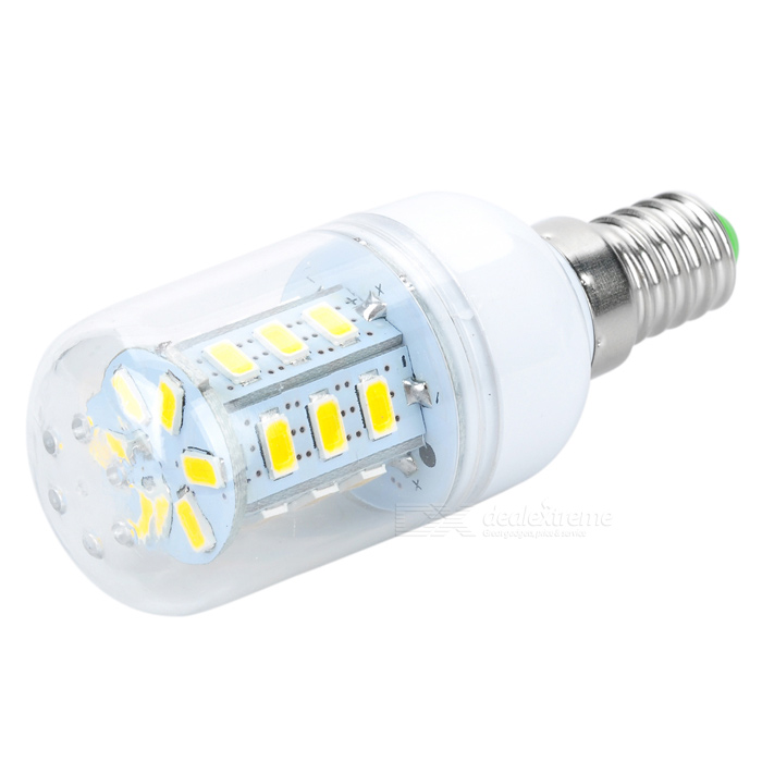 JR-LED E14 5W 330lm 3200K 24-SMD 5630 LED Warm White Light Bulb (AC 85~265V) e14 5w 110lm 3000k 8 smd 5630 led warm white light lamp bulb ac 85 265v