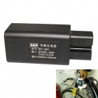 RT301 Electric Motorcycle Charger USB 5V 1A for Mobile Phone - Black (30~120V)